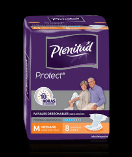Pañal adulto Plenitud Protect Mediano - 8 und