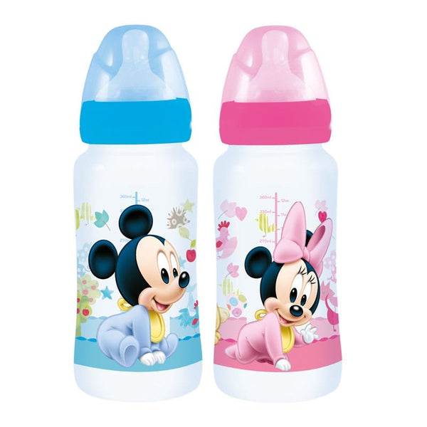 Biberón Flujo Variable Mickey Minnie Disney baby - 12 onz