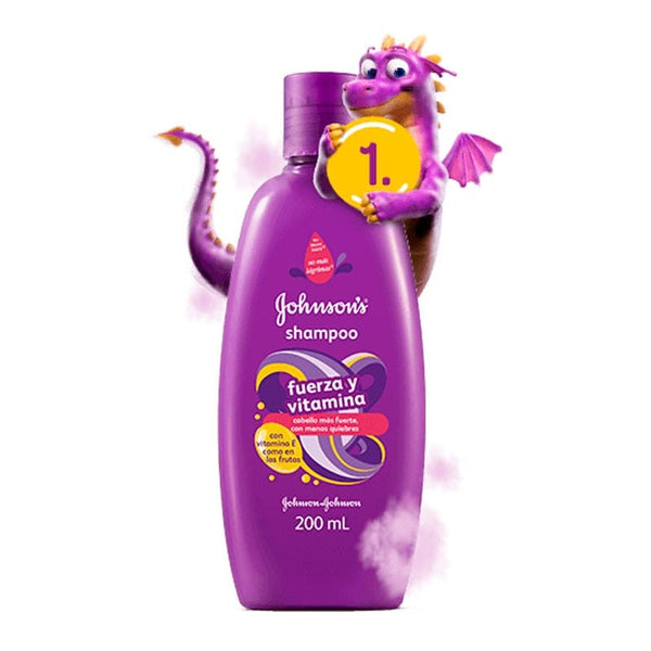 A1 - Fuerza y Vitamina Shampoo Johnson's Baby 200 ml