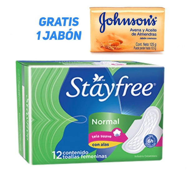 STAYFREE Normal con Alas- 12 un