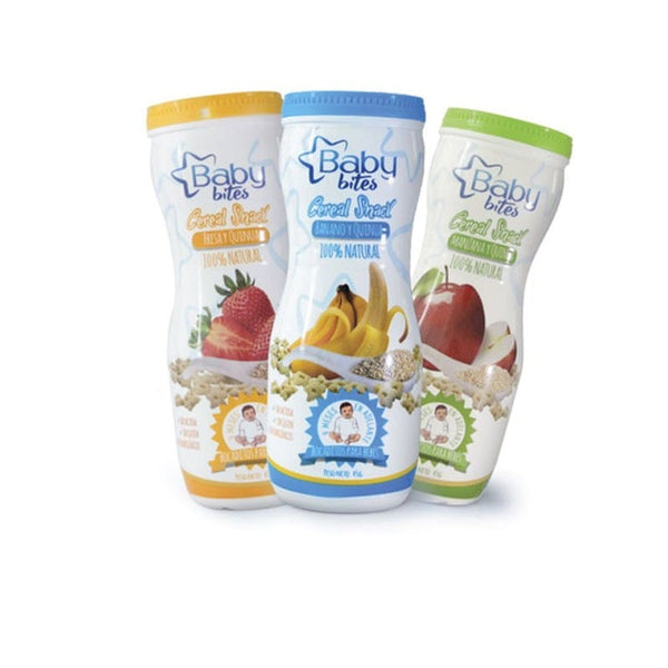 A2 PROMO Tripack babybites cereal snack  - 3 sabores