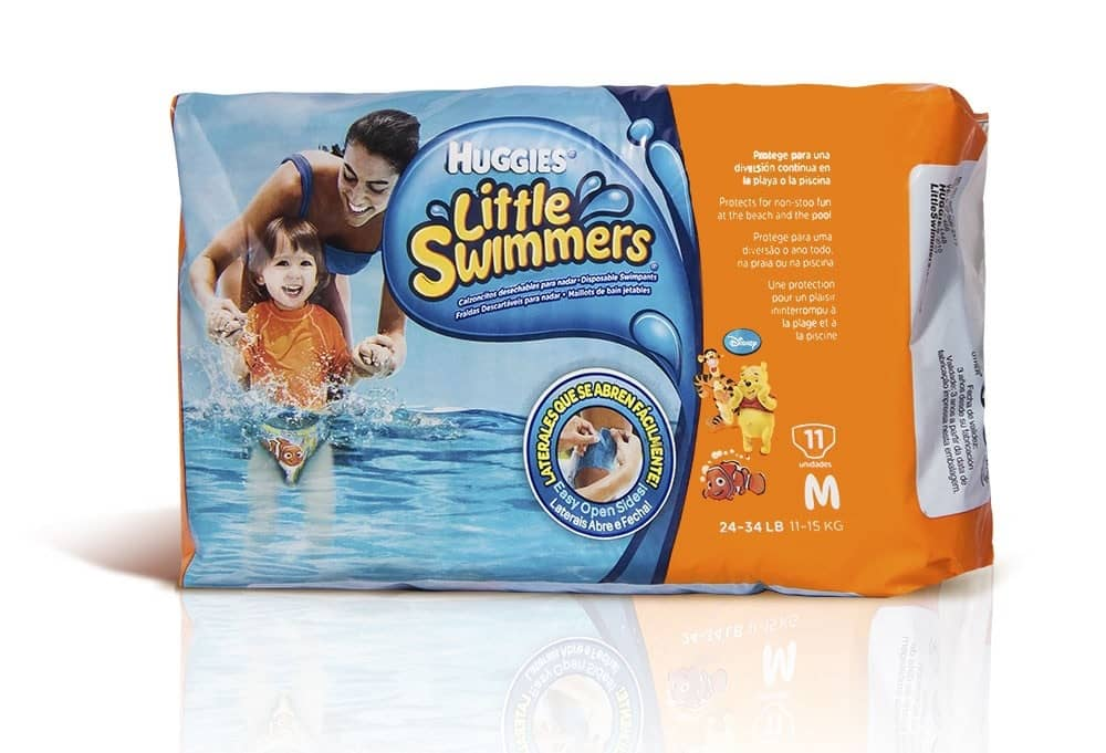 Pañal Huggies Swimmers Mediano - 11 und