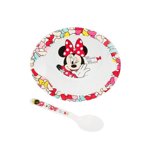 Plato y cuchara Minnie Disney baby