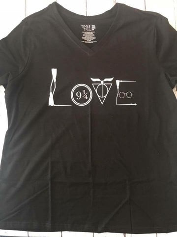 Love Harry Potter Shirt - Callie's Creations