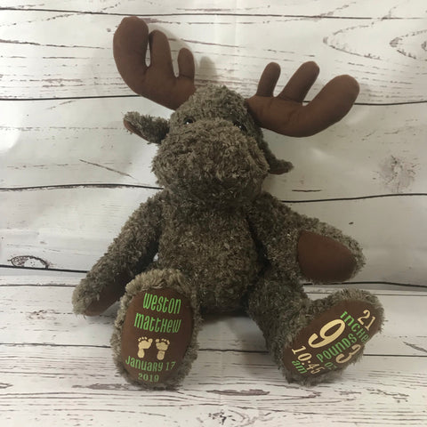 My FURst Friend - Maurice the Moose - Callie's Creations