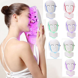LED Facial Mask-Anti Acne Therapy-Face Whitening Treatment - galaxiyan