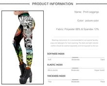 Load image into Gallery viewer, Halloween Ghost Ankle Leggings - galaxiyan