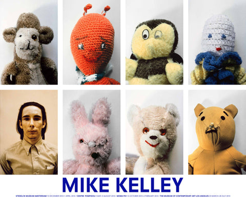 Mike Kelley Exhibition Poster