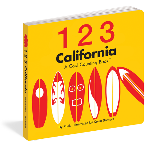 123 California: A Cool Counting Book