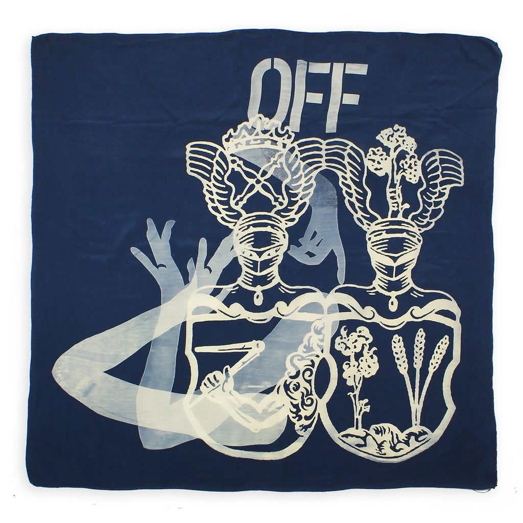 Lara Schnitger: Coat of Arms Scarf (Sisters of Arp)