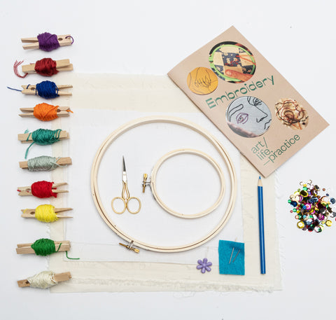 Art Life Practice: DIY Embroidery Kit
