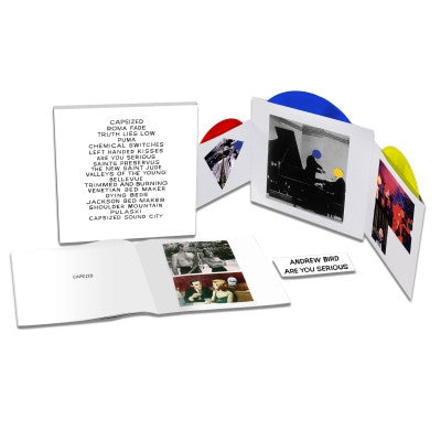 Andrew Bird: Are You Serious Deluxe LP set