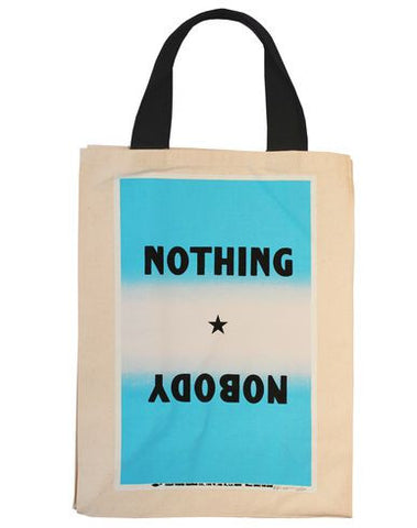 Allen Ruppersberg: Nobody Nothing Tote