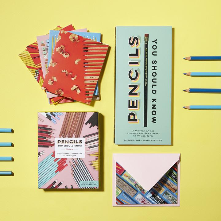 Pencils You Should Know:  Boxed Notecards