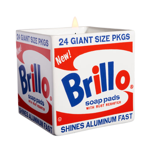 Andy Warhol Brillo Box Candle