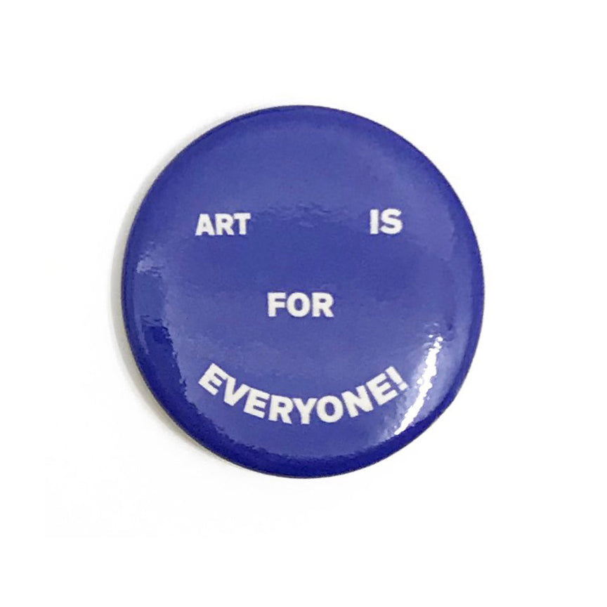 Art is for Everyone Button