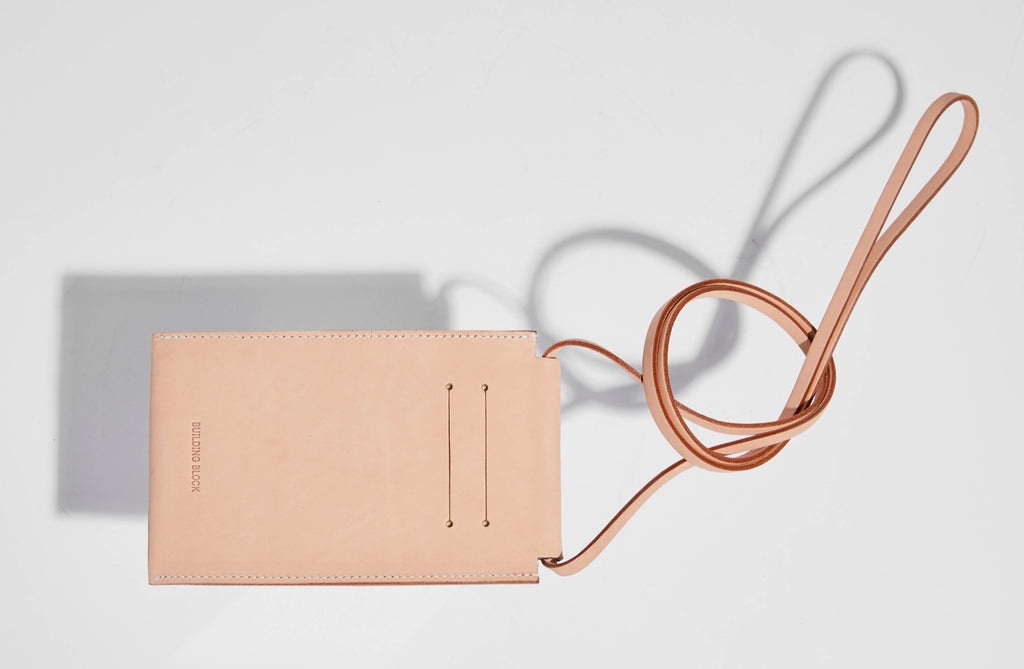 iPhone Sling in Veg Tan by Building Block