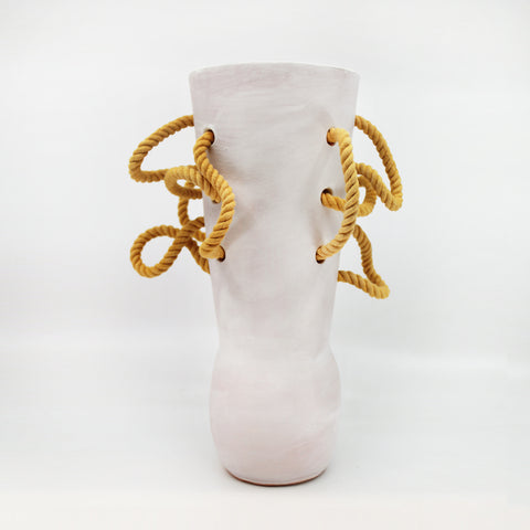 Pipe Rope Vase by BZippy