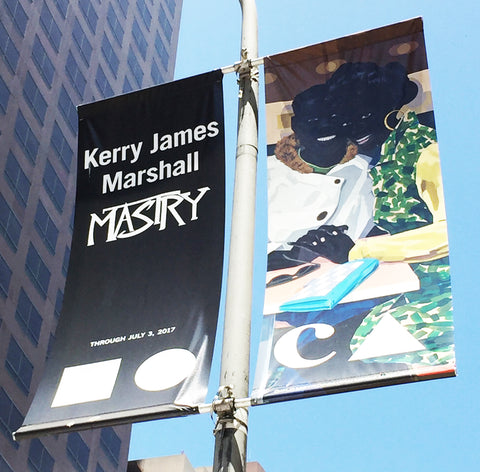 Kerry James Marshall Street Banner