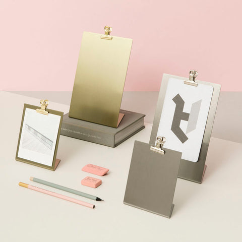 Silver Clipboard Frame by Block Design