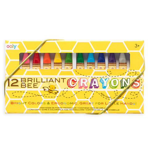 Brilliant Bee Crayon Sets