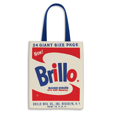 Andy Warhol Brillo Tote with Buttons