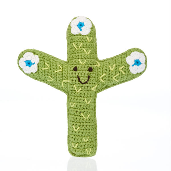 Pebble Friendly Cactus Rattle