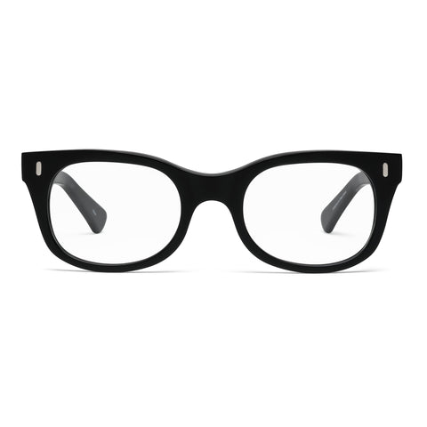 Bixby Matte Black Reading Glasses