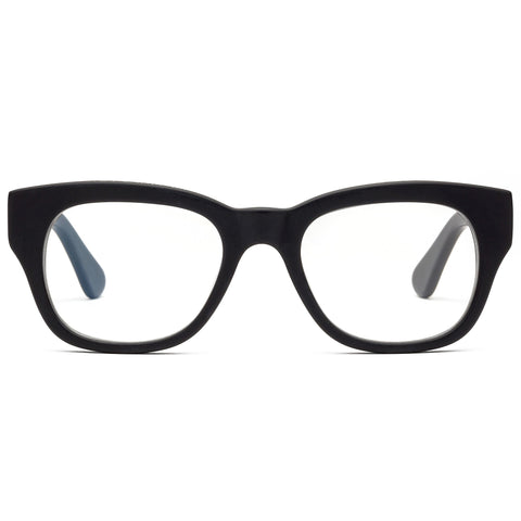 Miklos Matte Black Reading Glasses
