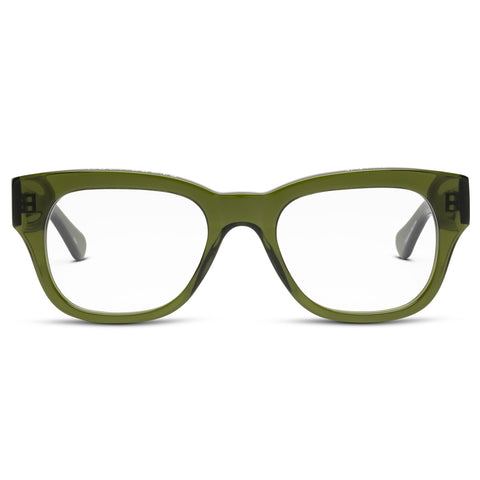 Miklos Green Reading Glasses