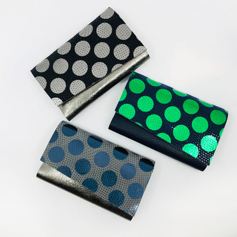 Polka Dot Card Holder by Carmine
