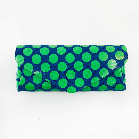 Polka Dot Long Wallet by Carmine