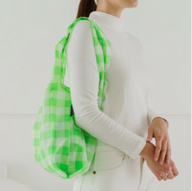 Baggu Reusable Tote in Checks