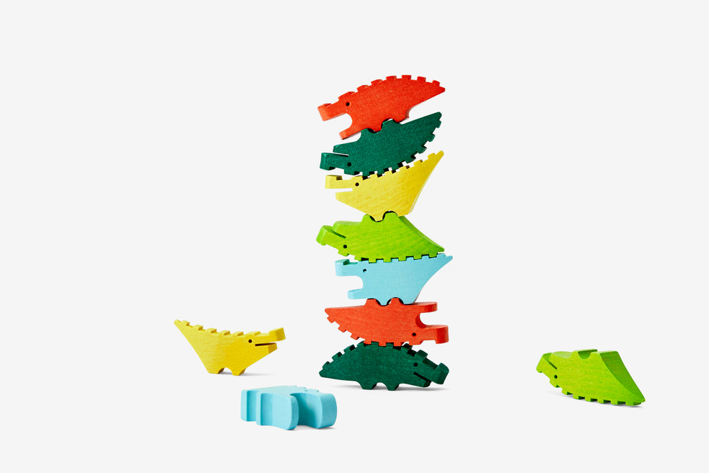 Mini Multi-Colored Croc Pile