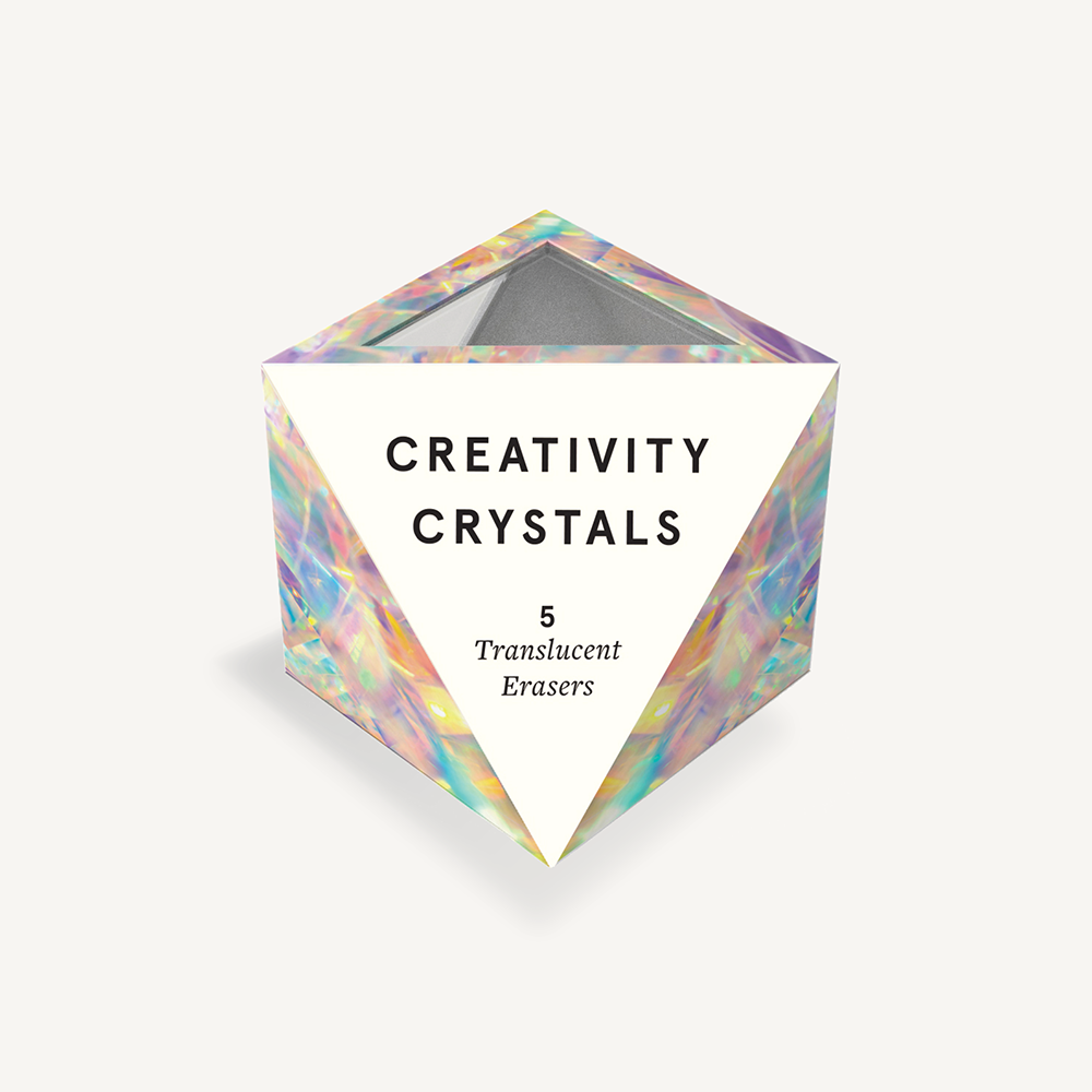 Creativity Crystal Eraser Set