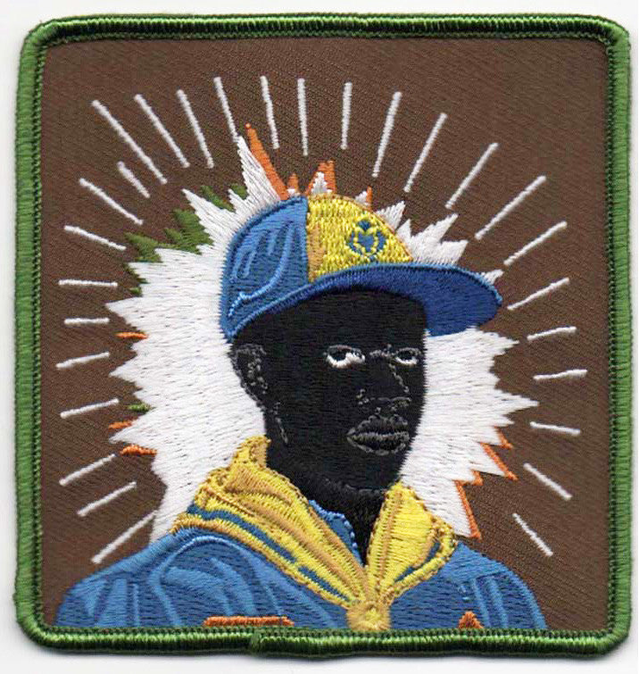 Kerry James Marshall Scout Series Embroidered Patches