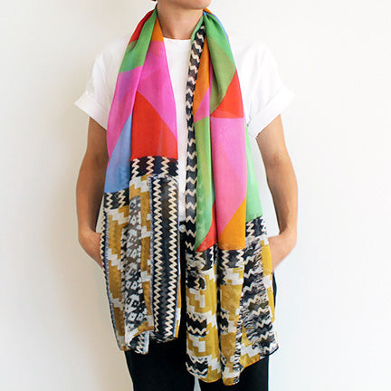 Faith Ringgold Scarf