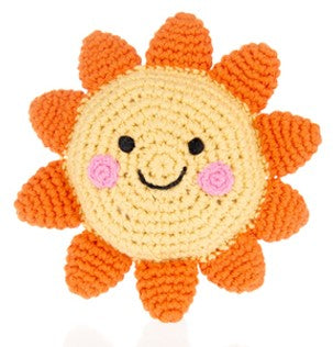 Friendly Sun Rattle