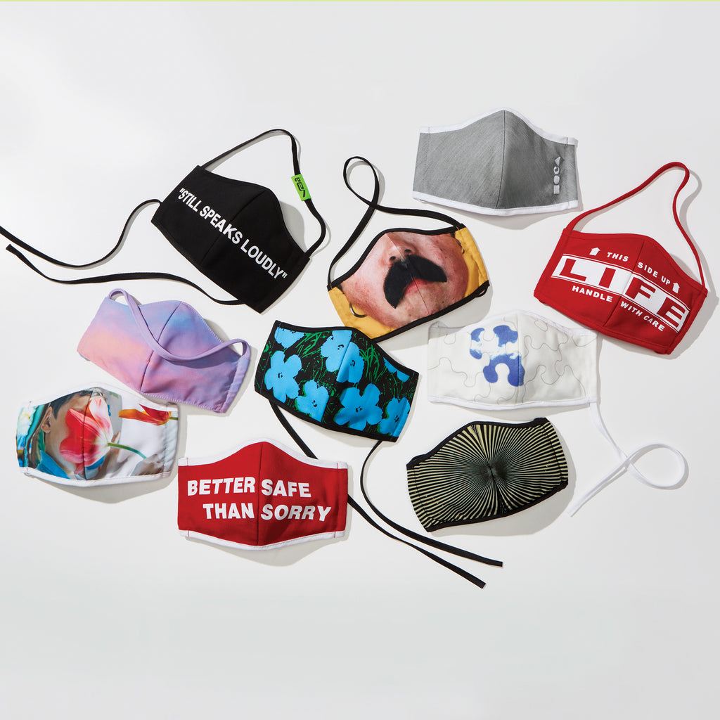 MOCA Mask: Collection of Nine Limited-Production, Artist-Designed Face Masks plus MOCA Mask