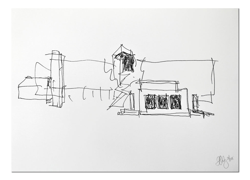 Frank Gehry: The Burns Building print