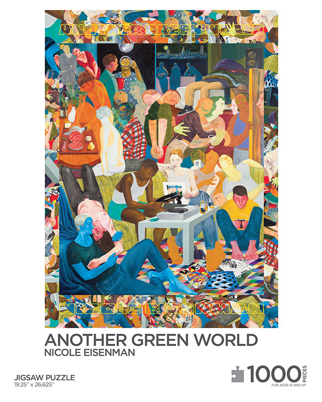 Nicole Eisenman: Another Green World Puzzle