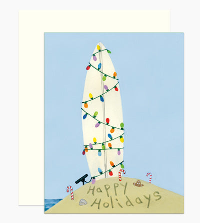 Surf Holiday Greeting Card Set