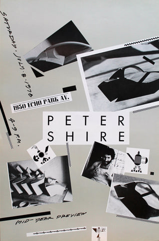 Peter Shire 1978 Poster
