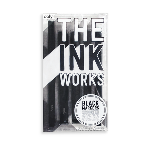 The Ink Works: Assorted Black Markers
