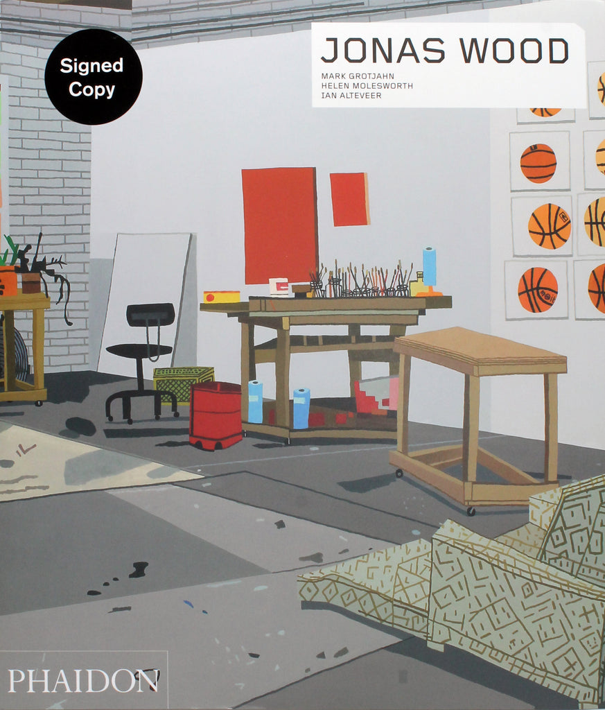 Jonas Wood Signed Monograph