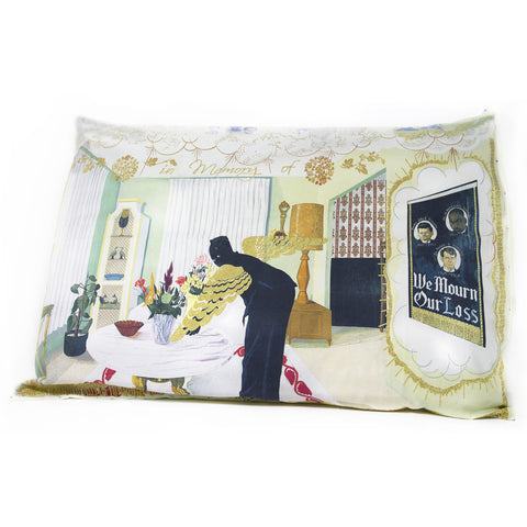 "Kerry James Marshall ""Souvenir 1"" Pillow Sham"