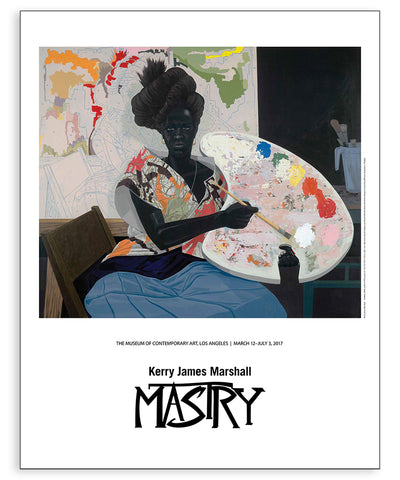 Kerry James Marshall Exhibition Poster, Untitled (Painter)