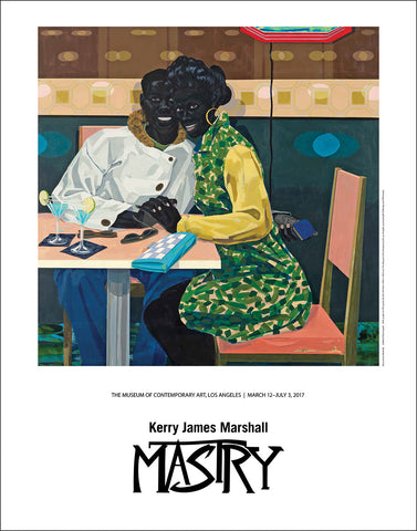 Kerry James Marshall Exhibition Poster, Club Couple
