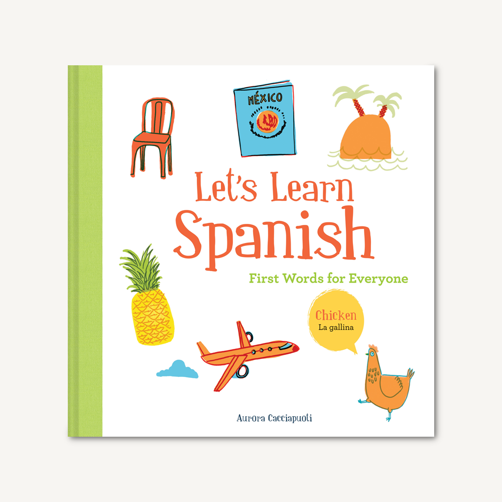 Let's Learn Spanish, First Words Book