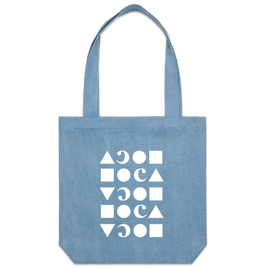 MOCA Denim Tote Bag